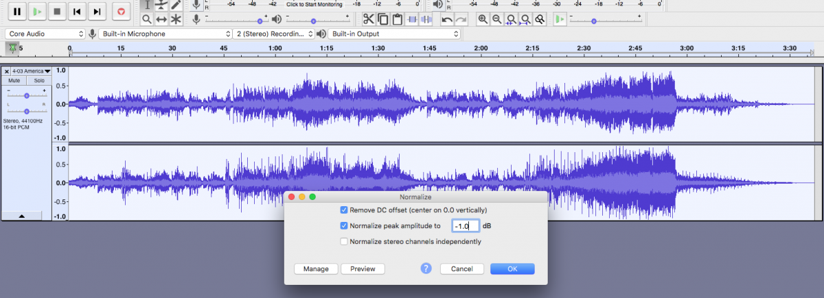 4 Normalize in Audacity.png