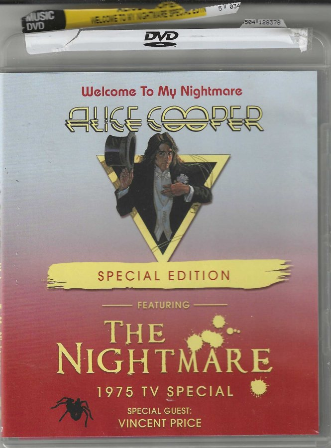 Alice Cooper - Welcome to My Nightmare Special Edition - The Nightmare 1975 TV - Front Clam Sh...jpg
