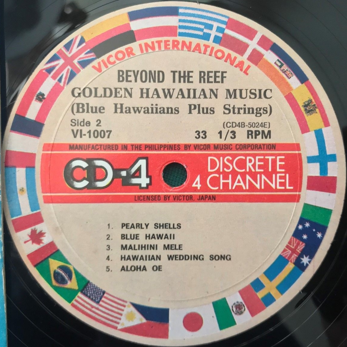 BLUE HAWAIIANS WITH STRINGS -Beyond the Reef. Vicor International VI 1007 (CD4) [Philippines]c.jpg