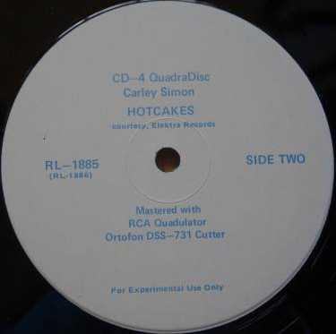 CARLY SIMON -Hotcakes. Elektra RL-1885 (CD4) [Tset Pressing]c.jpg