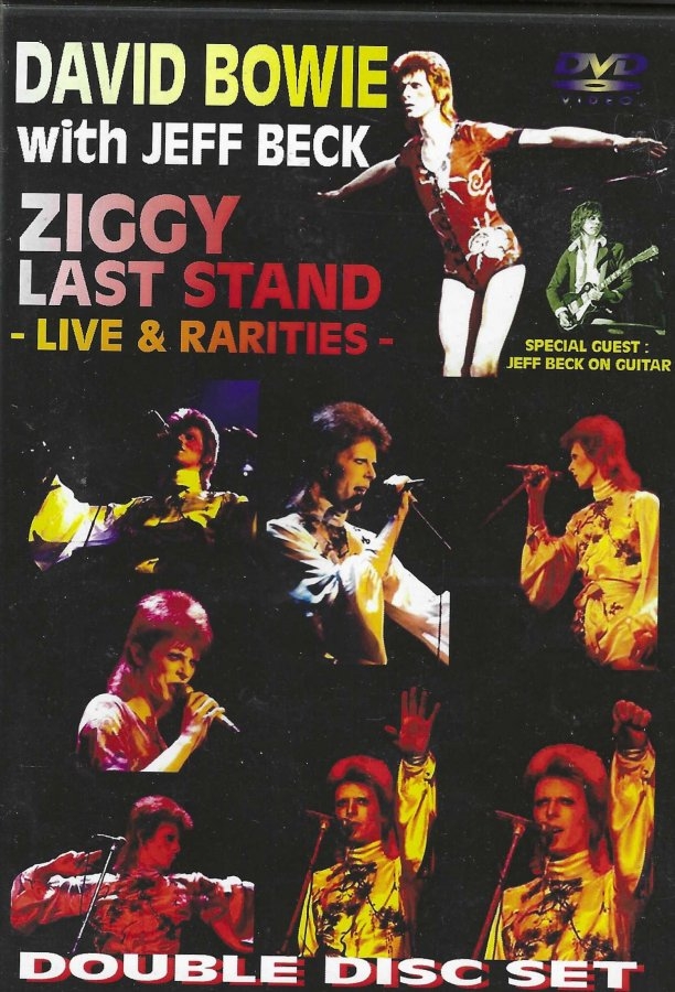 David Bowie - Ziggy Last Stand with Jeff Beck - 2 Disc Set - Front Clam Shell.jpg