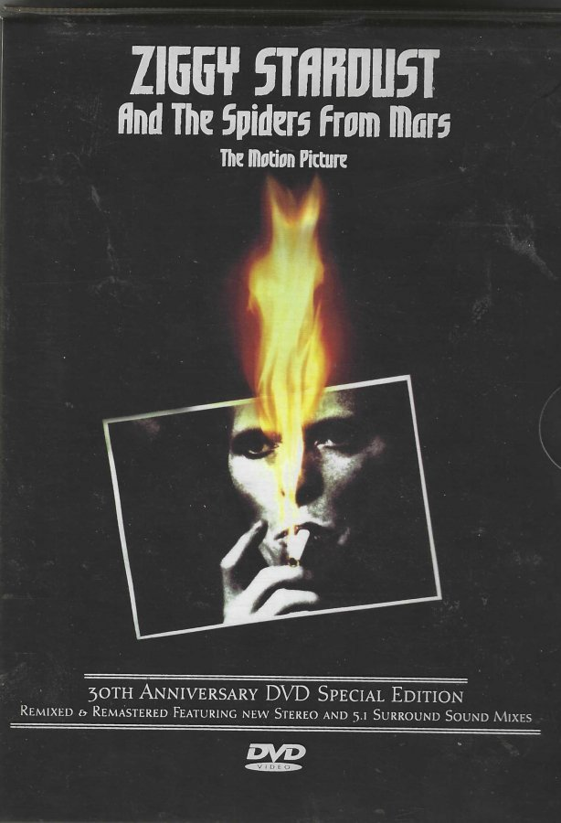 David Bowie - Ziggy Stardust & The Spiders From Mars - The Movie DVD - Front Slip Case.jpg