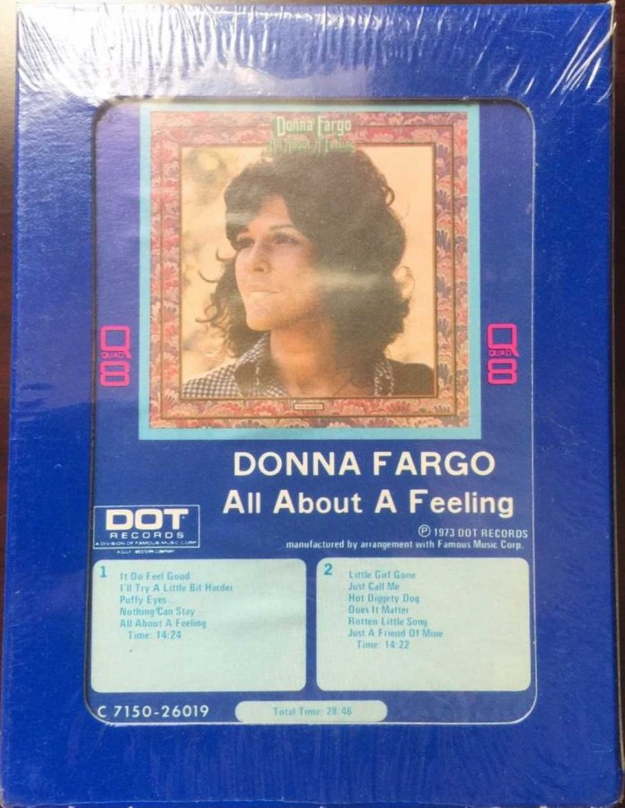 DONNA FARGO -All About a Feeling. Dot 7310-26019H (Q8)a.jpg
