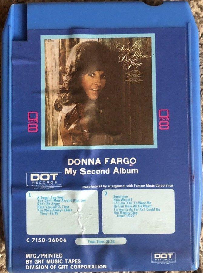 DONNA FARGO -My Second Album. Dot 7310-26006H (Q8)a.jpg