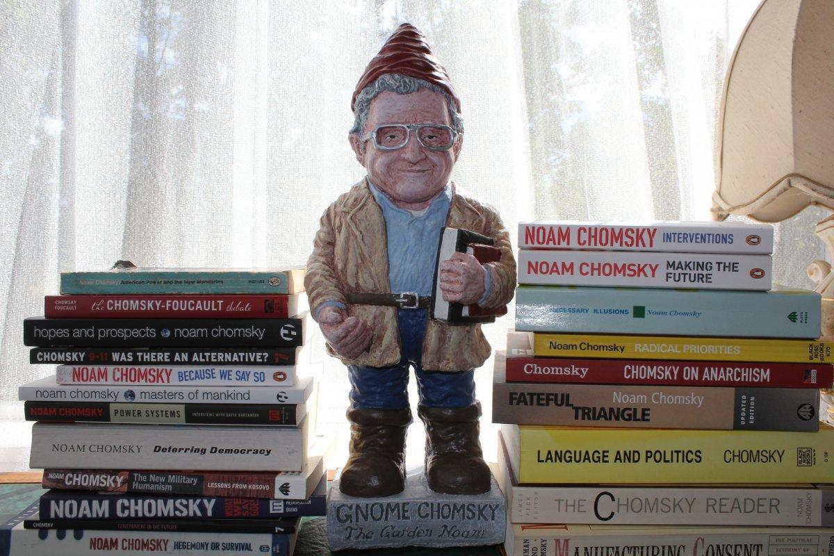 Gnome Chomsky.JPG