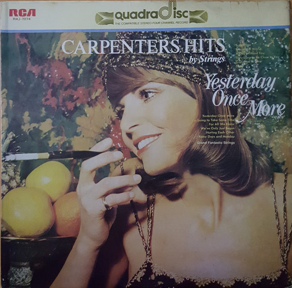 GRAND FANTASTIC STRINGS -Carpenters Sound-Yesterday Once More. RCA R4J-7074 (CD4) [Philippines]a.jpg
