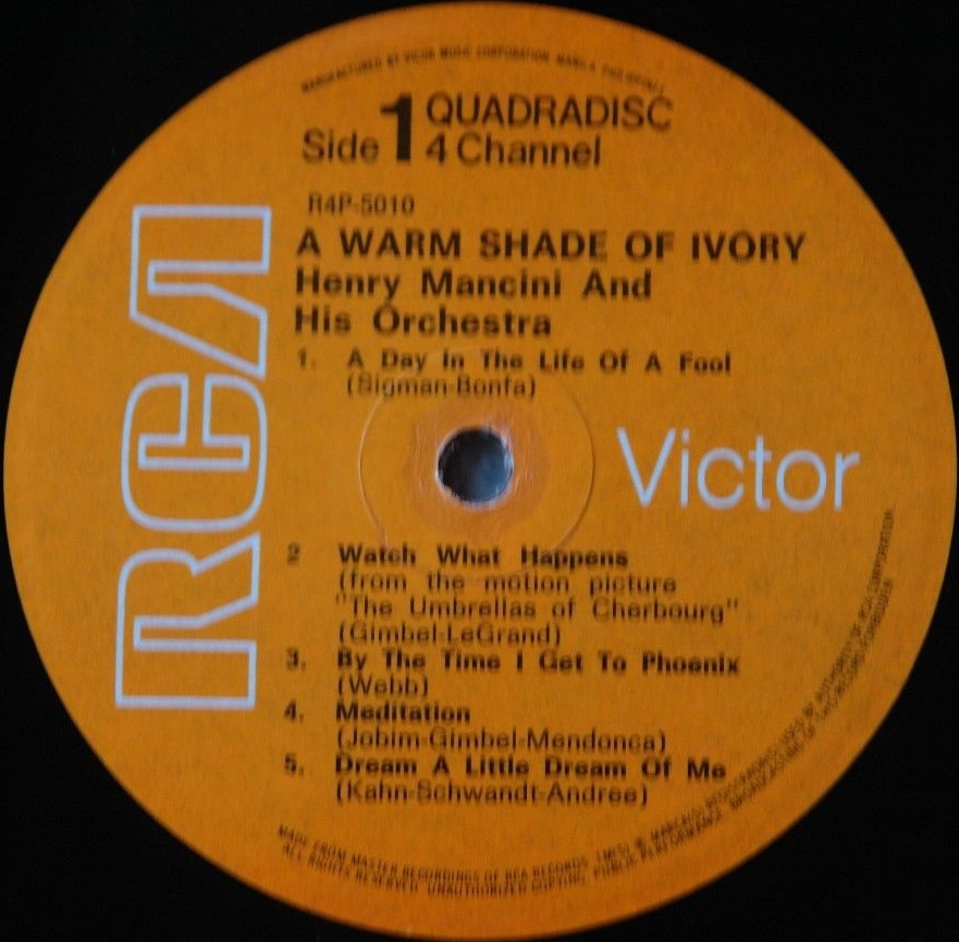 HENRY MANCINI -Warm Shade of Ivory. Vicor R4P-5010 (CD4) [Philippines]c.jpg