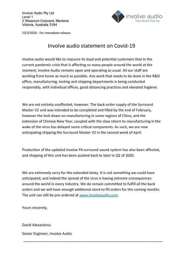 Involve Audio COVID 19 PR.jpg