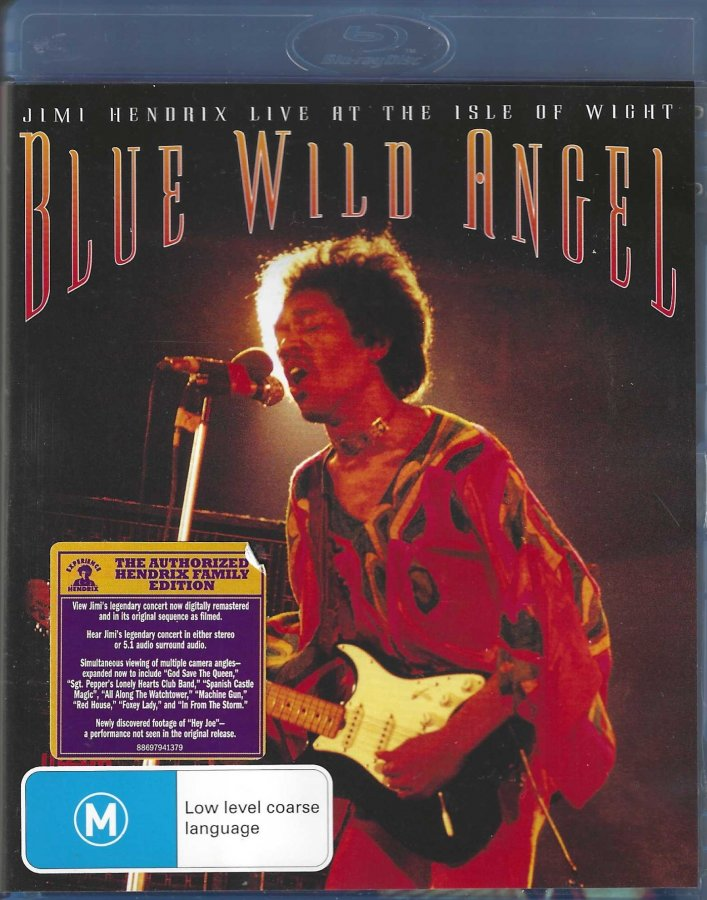 Jimi Hendrix - Live At The Isle Of Wight - Blu-Ray - Front Clam Shell.jpg