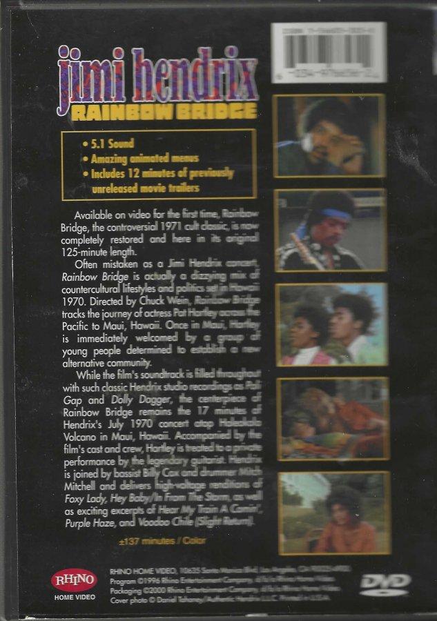 Jimi Hendrix - Rainbow Bridge - DVD - Back Clam Shell.jpg