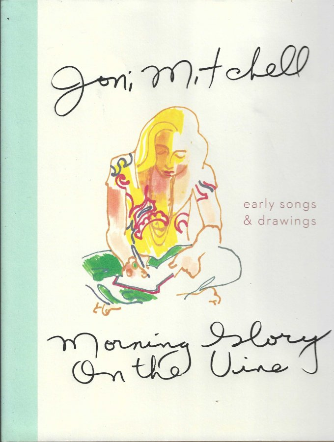 Joni Mitchell - Morning Glory On The Vine - Early Songs & Drawings - Front Cover.jpg
