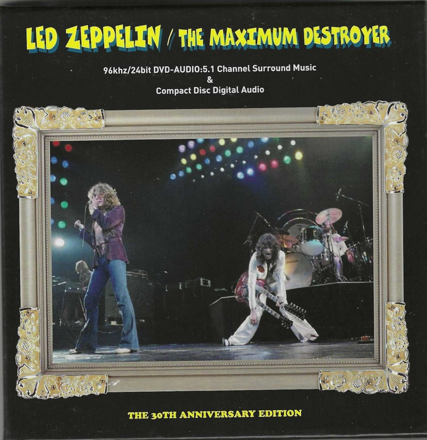 Led Zeppelin - The Maximum Destroyer - 5 DVD-A Box Set - 5.1 - Front Box.jpg