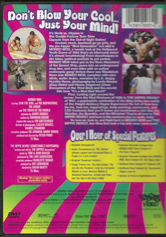 Mondo Mod & The Hippie Revolt - DVD Double Feature - Back Clam Shell.jpg