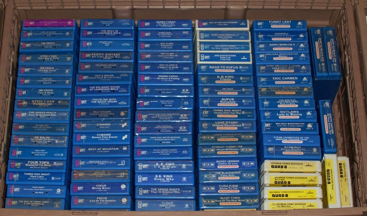 Quad 8-track Collection July, 2020 005.JPG