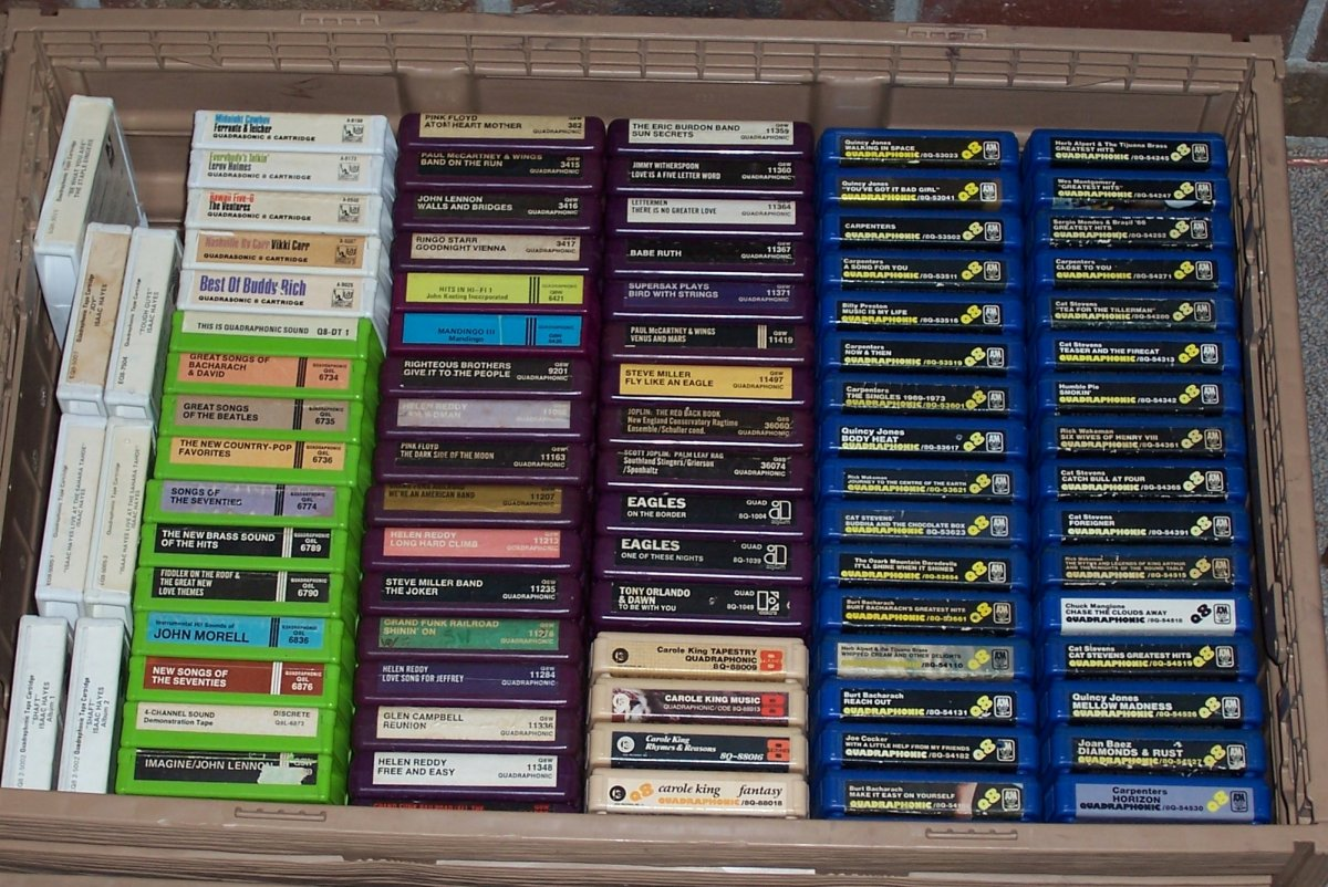 Quad 8-track Collection July, 2020 007.JPG