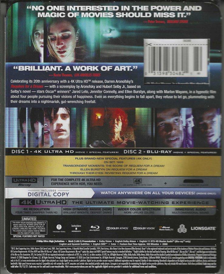 Requiem For A Dream - 20th Anniversary - 4K BR Digital - Back.jpg