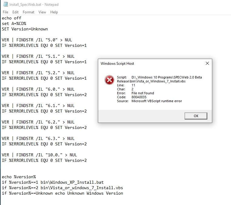 SpecWeb2 error.jpg