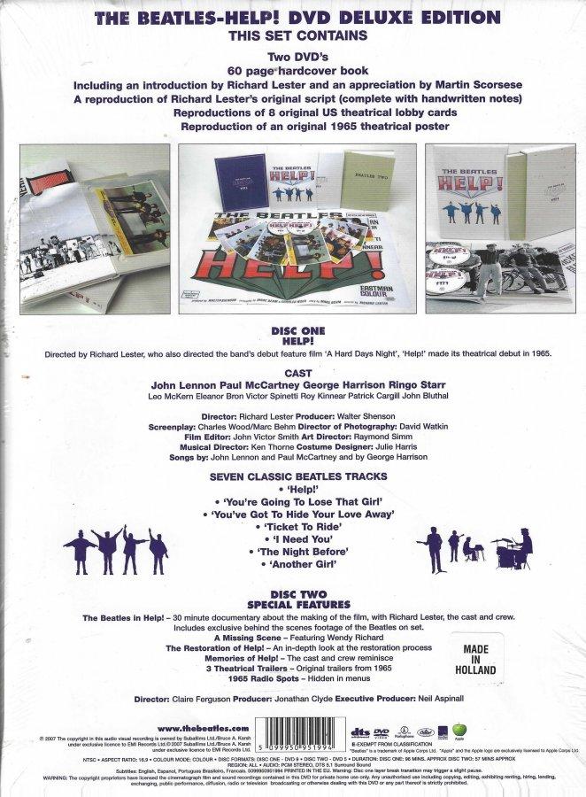The Beatles - Help - 2007 Super Deluxe Edition - Box Set - Back Slip Case.jpg