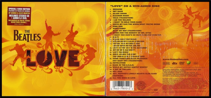 Love DVD-Audio Disc & CD